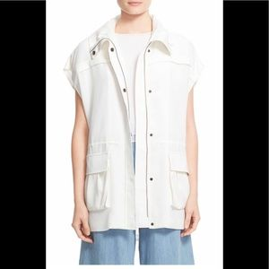Alice + Olivia Tate Hooded Cargo Jacket
